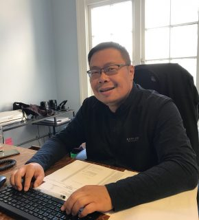 Jason feng, office administrator
